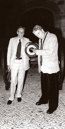 William S. Burroughs and  Brion Gysin